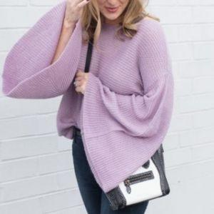 B.P bell sleeve sweater